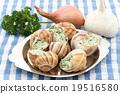 食用蝸牛 烹飪前 法語 19516580