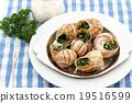 食用蝸牛 法語 法國人 19516599