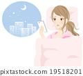 【女性生活方式1】睡前使用睡覺 19518201