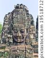 캄보디아 씨엠립 앙코르 톰 유적 군 남대문 19518712