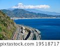 富士山 駿河灣 東海道線 19518717