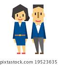 一對夫婦(男性和女性) 19523635