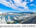富士山 渔船 渔港 19524945