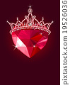 Crystal Heart with Crown 19526036