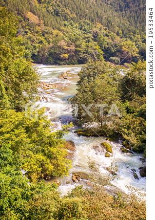 Tianxingqiao area scenery of Huangguoshu waterfall 19533464
