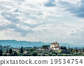 Tuscan countryside, natural scene, clouds and greenery 19534754