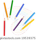 彩色鉛筆 書寫工具 文具 19539375