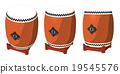太鼓 鼓 器具 19545576