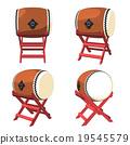 太鼓 鼓 日本传统乐器 19545579