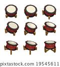 太鼓 鼓 器具 19545611