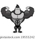 athlete gorilla strong 19555242