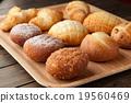 麵包 小甜麵包 丹麥甜糕餅 19560469