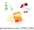 vector, vectors, snack bar 19561386