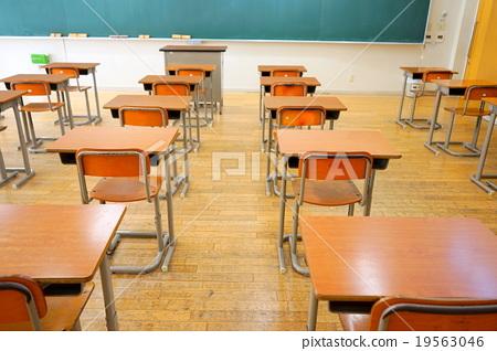 日本的學校教室(初中/高中)日本的學校教室 19563046
