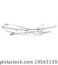 Airplane 19563130