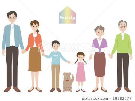 家庭 家族 家人 19582377
