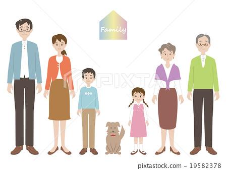 家庭 家族 家人 19582378