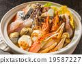 海鲜火锅海鲜日式炖肉 19587227