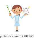 牙醫助理 牙科衛生學家 人物 19589563