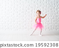 little child girl dreams of becoming  ballerina 19592308