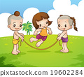 Traditional Thai children are playing 19602284