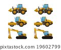heavy vehicles, bulldozer, earthmover 19602799