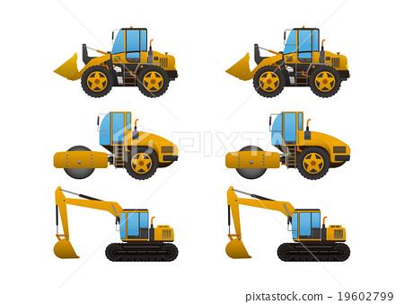 重型車輛 推土機 挖掘者 19602799