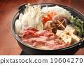 牛肉 燉湯 用鍋烹飪 19604279