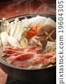 牛肉 燉湯 用鍋烹飪 19604305