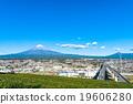 富士山 城市風光 城市景觀 19606280