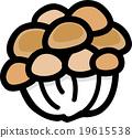 蟹味菇 蘑菇 烹飪 19615538