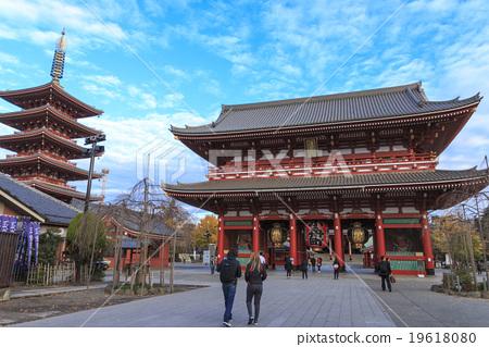 New Year of Asakusa-ji Temple 19618080
