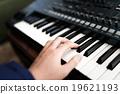 音響合成器 鍵盤 特寫 19621193