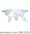 World map with shadow, textured design vector 19621854