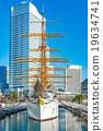水手 日本丸 帆船 19634741