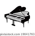 鋼琴 鍵盤樂器 大鋼琴 19641763
