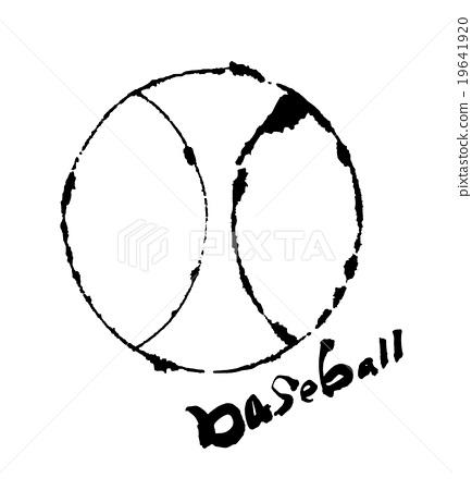 수묵화 야구 공 .n 19641920