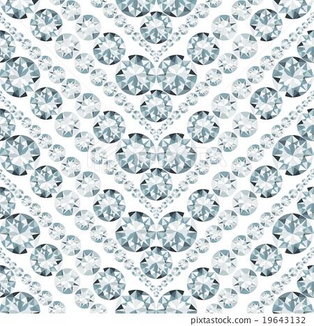 Seamless herringbone pattern made of diamonds 19643132