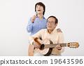 演奏 古典吉他 唱 19643596