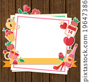 Decorative background for Valentine's day 19647386