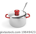 Pot and ladle 19649423