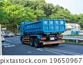廢物收集車 垃圾車 重型車輛 19650967