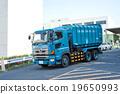 廢物收集車 垃圾車 重型車輛 19650993
