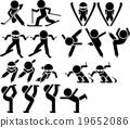 冬季運動 運動 圖標 19652086