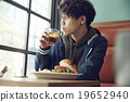 男人 午餐 午飯 19652940