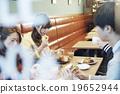 女性 飯店 餐廳 19652944