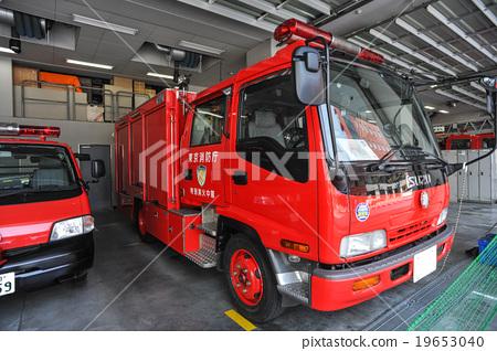 Stock Photo: firetruck, fire-engine, fire truck