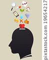 Head bank thinking 19654217