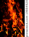 Fire flames background 19664920