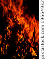 Fire flames background 19664932